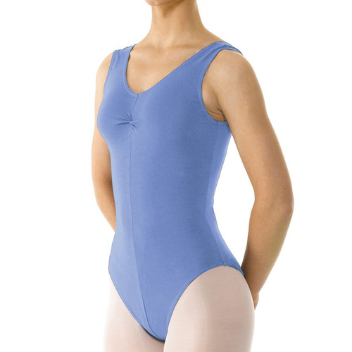 Tappers & Pointers COT/3 Tanked Ruched Front Leotard Jr