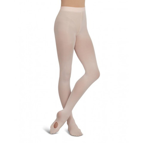 Capezio Ultra Soft Self Knit Waistband Transition Tights Child