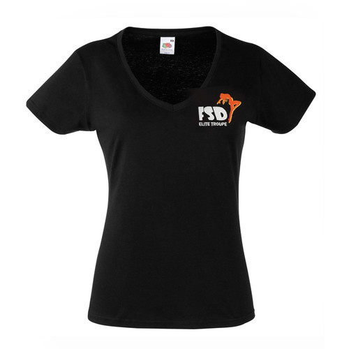 FSD ELITE BRANDED 'V' NECK T-SHIRT