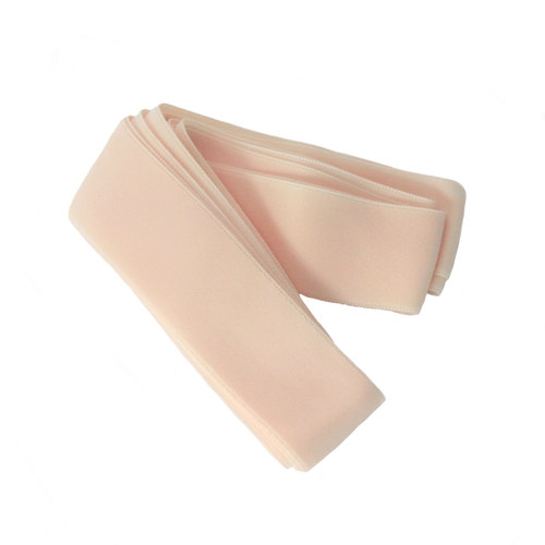 "Tappers & Pointers Non Slip 1"" Pointe Shoe Nylon Ribbon 2.6M (Peach)"