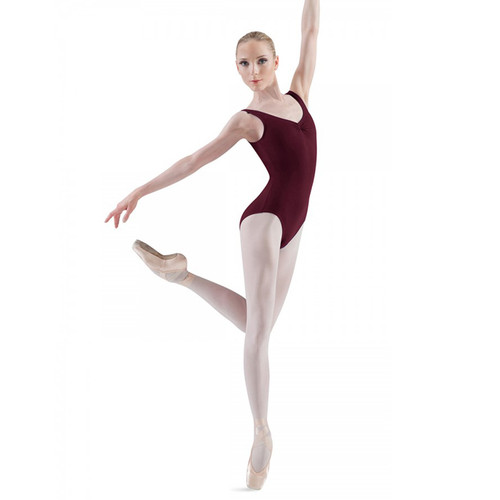 KARSD BURGUNDY TANK LEOTARD