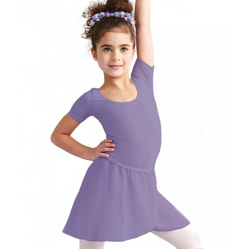 Katy Anne Robinson School of Dance Dark Lavender Chiffon Wrap Skirt
