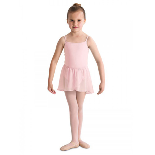 MOLESEY SCHOOL OF BALLET  'BARRE' PINK MOCK WRAP SKIRT