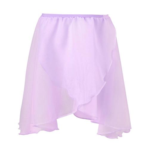 Roshe Lilac Chiffon Wrap Skirt