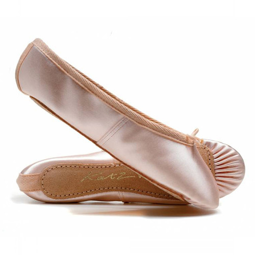 Coworth-Flexlands Full Sole Satin Ballet Shoe