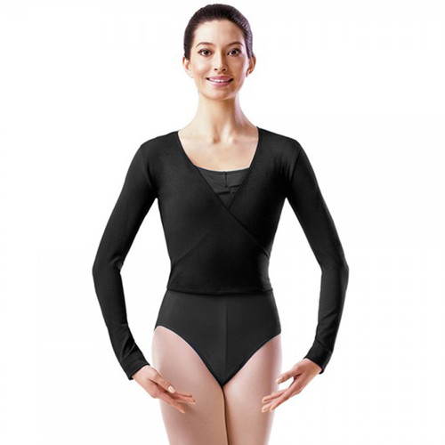 Coworth-Flexlands School Black X-Over Cotton Ballet Wrap
