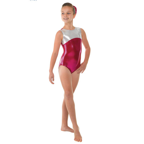 TAPPERS & POINTERS GYM/11 SHINE PANEL LEOTARD Jr