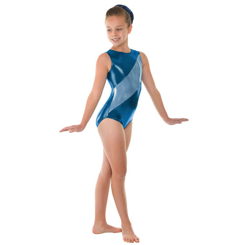 TAPPERS & POINTERS GYM/12 SHINE PANEL LEOTARD Jr