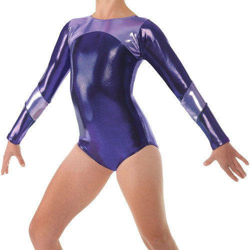 TAPPERS & POINTERS GYM/14 SHINE PANEL LEOTARD
