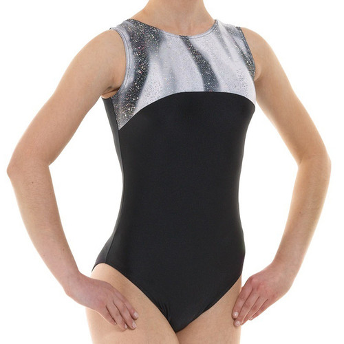 TAPPERS & POINTERS GYM/4 LYCRA AND FOIL LEOTARD