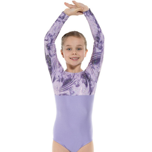 TAPPERS & POINTERS GYM/8 LYCRA AND FOIL LEOTARD