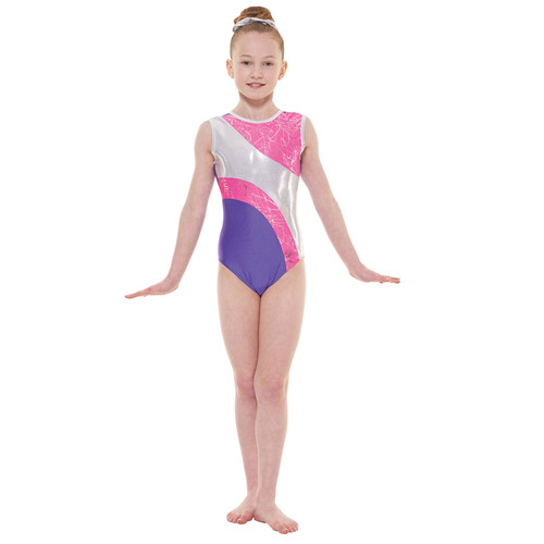 TAPPERS & POINTERS GYM/37 CARNIVAL LEOTARDS Jr