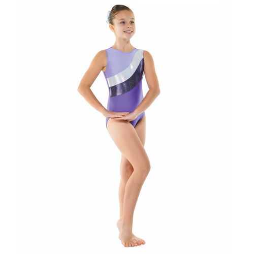 TAPPERS & POINTERS GYM/18 LYCRA AND COSMIC SHINE LEOTARD Jr