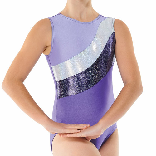 TAPPERS & POINTERS GYM/18 LYCRA AND COSMIC SHINE LEOTARD