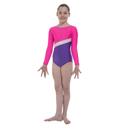TAPPERS & POINTERS GYM/2 LYCRA BLOCKS LEOTARD Jr