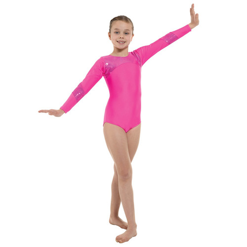 TAPPERS & POINTERS GYM/9 LYCRA AND HOLOGRAM LEOTARD Jr