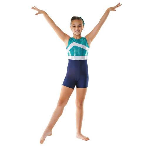 TAPPERS & POINTERS GYMTARD/1 LYCRA AND COSMIC SHINE LEOTARD Jr