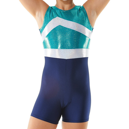 TAPPERS & POINTERS GYMTARD/1 LYCRA AND COSMIC SHINE LEOTARD