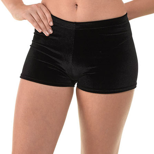 TAPPERS & POINTERS VELOUR MICRO  GYM SHORTS Ad