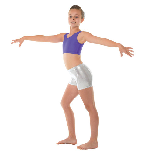 TAPPERS & POINTERS SHINE MICRO GYM SHORTS Jr