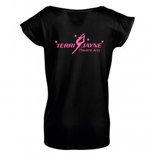 TERRI JAYNE BRANDED ADULT T-SHIRT