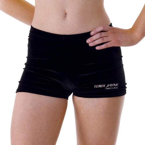 TERRI JAYNE BRANDED COTTON HOT PANTS