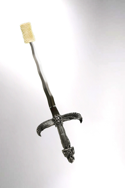 Egyptian Scarab - Fire Eating Dagger