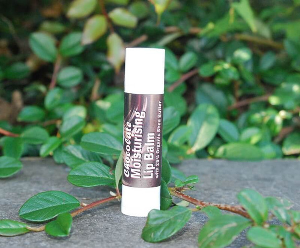 Chocolate Shea Butter Moisturising, Protective and Delicious Lip Balm (4.5ml)