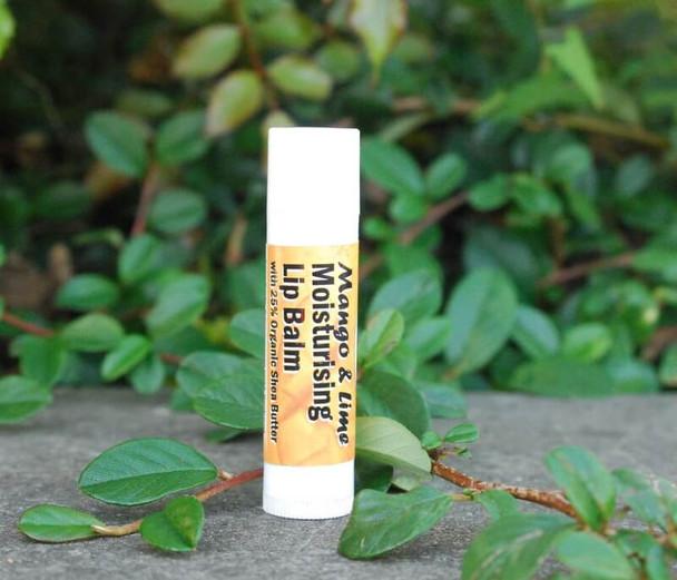 Mango & Lime Shea Butter Moisturising Lip Balmwith Cocoa Butter. (4.5ml) tube