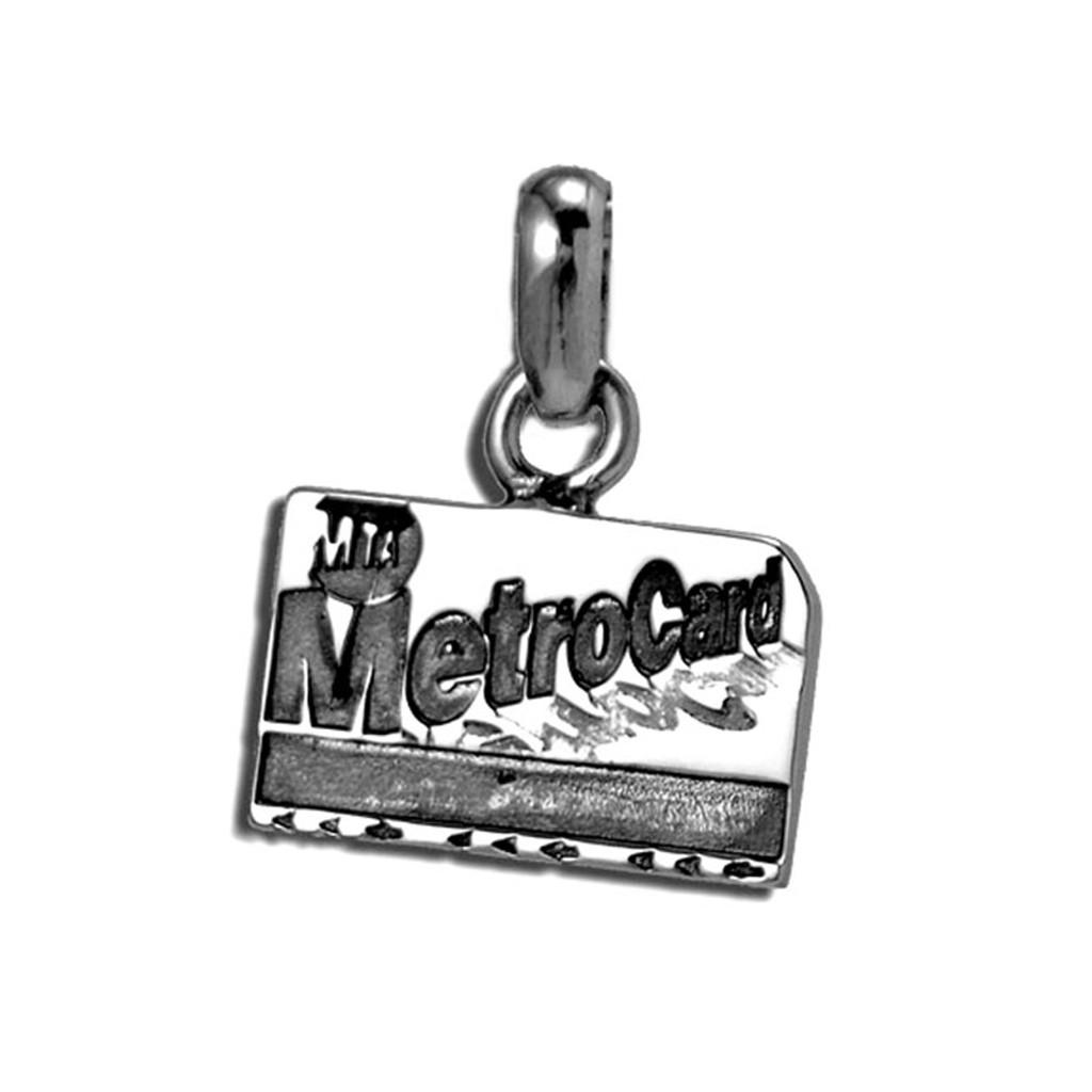 Metro Card Charm