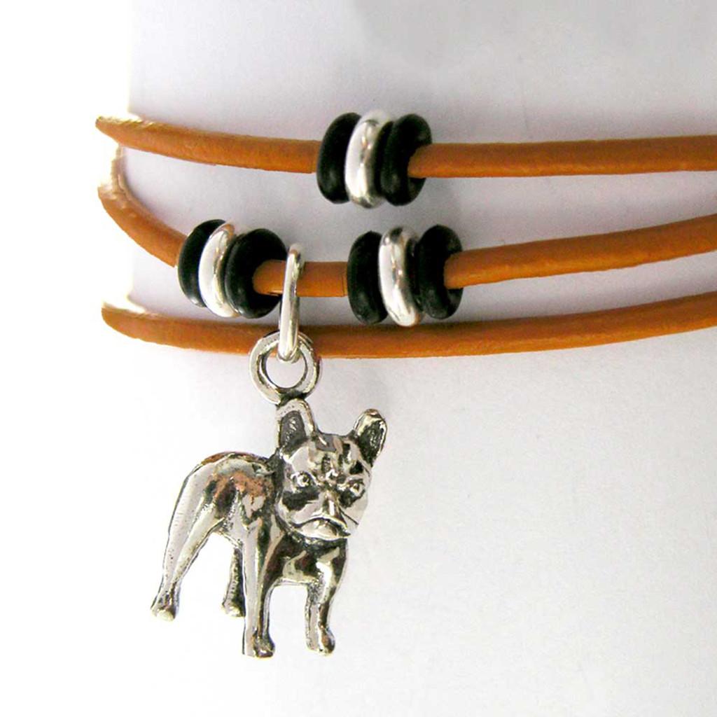 Wrap Dog Bracelet with Small Dog