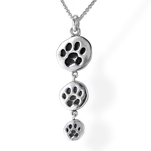 Dropping Paw Pendant