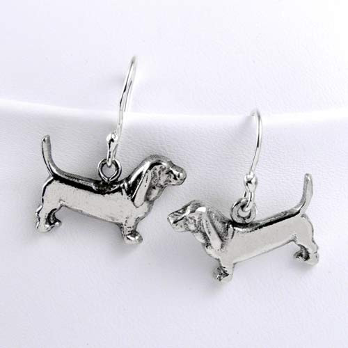 Basset Hound Earrings
