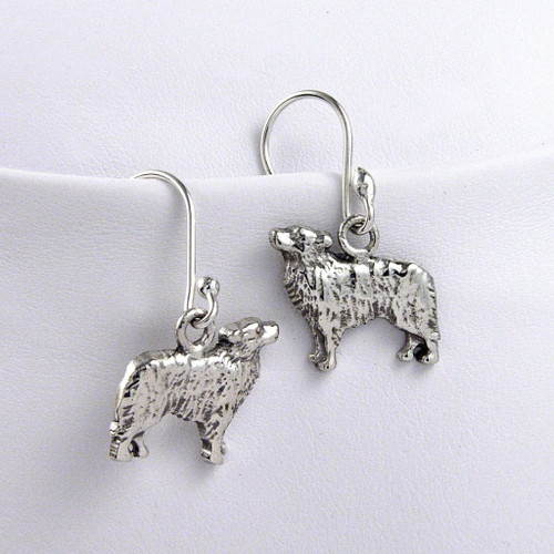 Border Collie Earrings