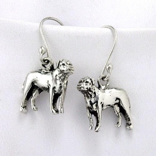 Bull Mastiff Earrings