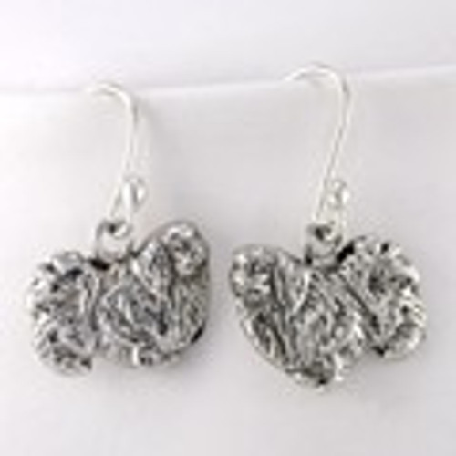 Pekingese Earrings