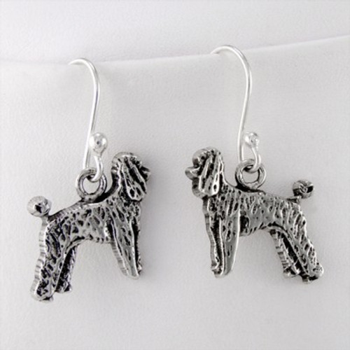 Poodle Puppy Earrings