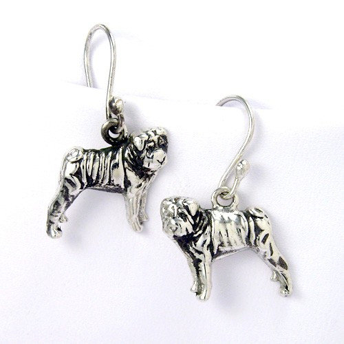 Sharpei Earrings