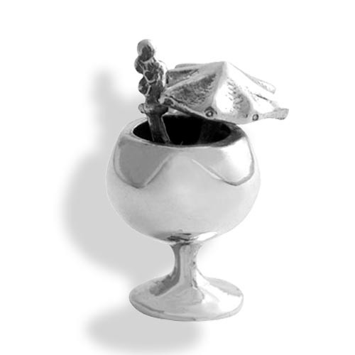 Mai Tai Cocktail Charm