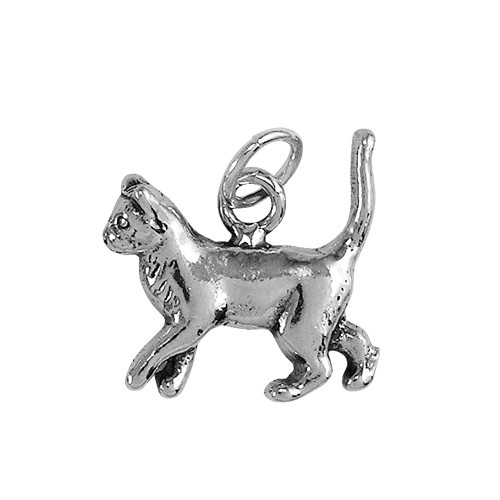 Strutting Siamese Cat Small Charm