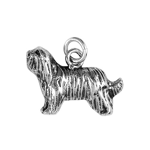 Bearded Collie Small Charm