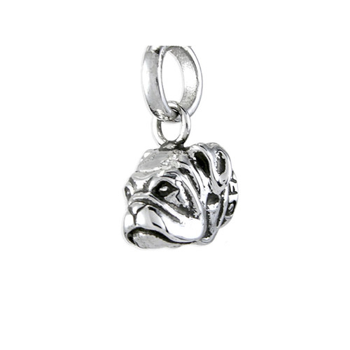 Bull Dog Head Pendant