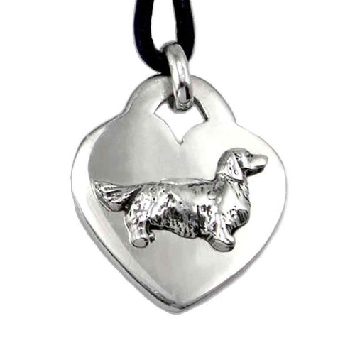 Heart Pendant Dog