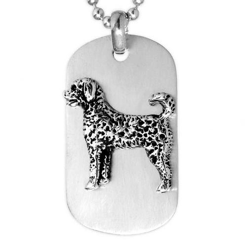 Dog ARF Tag Silver