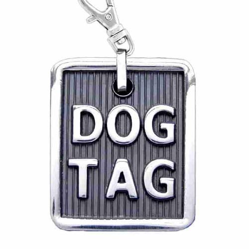 Dog Tag ID Silver