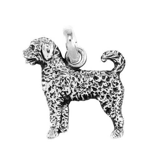 Labradoodle Large Charm