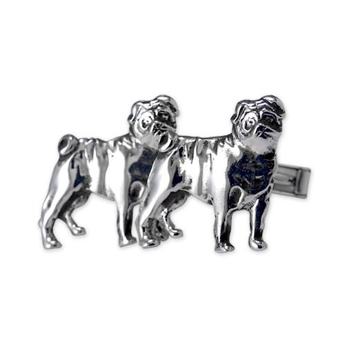 Pug Cufflinks