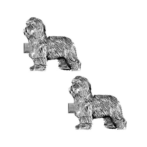 Old English Sheepdog Cufflinks