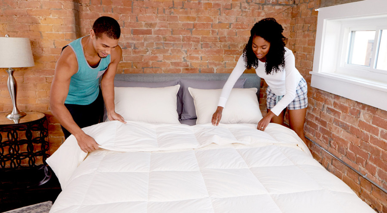 Bed Making Hacks for a Put Together Look in a Flash