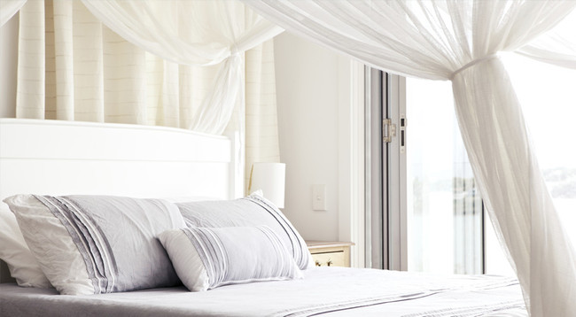 Upgrade Your Bed for Winter with a Cozy, DIY Canopy